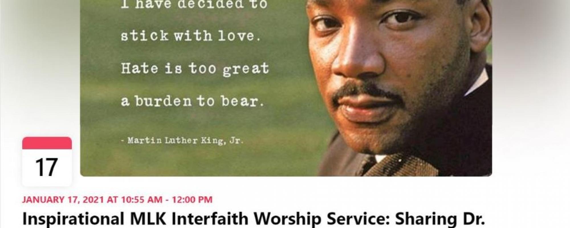 MLK 2021 worship service